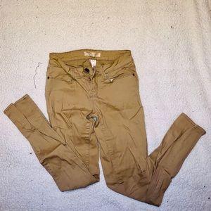 No Boundaries Size 3 Beige Skinny Jeans